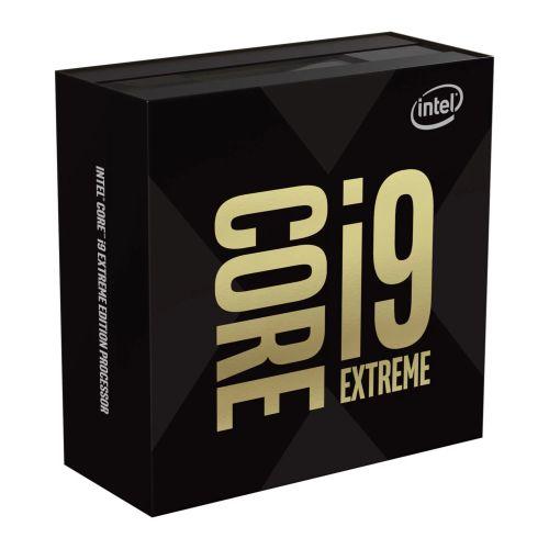 Intel Core I9-9980XE Extreme Edition CPU, 2066, 3GHz (4.4 Turbo), 18-Core, 165W, 24.75MB Cache, Overclockable, No Graphics, Sky Lake, NO HEATSINK/FAN