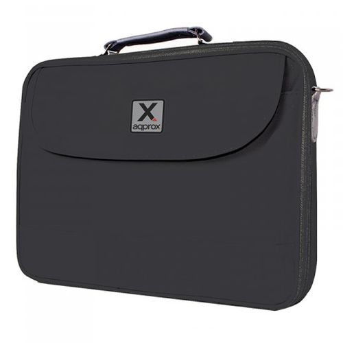 """NEW! Approx APPNB15B 15.6"""" Laptop Carry Case Padded Multiple Compartments Black"""