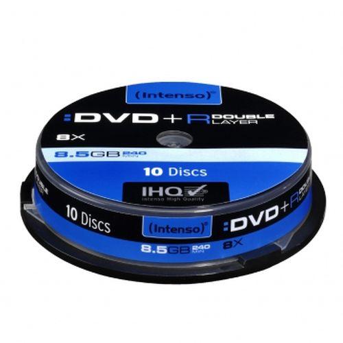 Intenso DVD+R, 8.5GB, 8x Speed, Dual Layer, Slim Case of 5