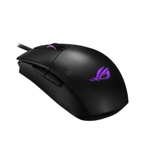 Asus ROG Strix Impact II Gaming Mouse, 6200 DPI, Omron Switches, DPI Button, RGB LED