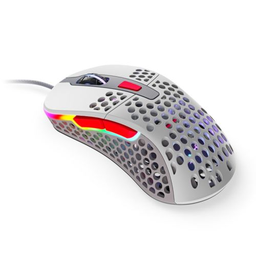 Xtrfy M4 RGB Wired Optical Gaming Mouse, USB, 400-16000 DPI, Omron Switches, 125-1000 Hz, Adjustable RGB, Retro