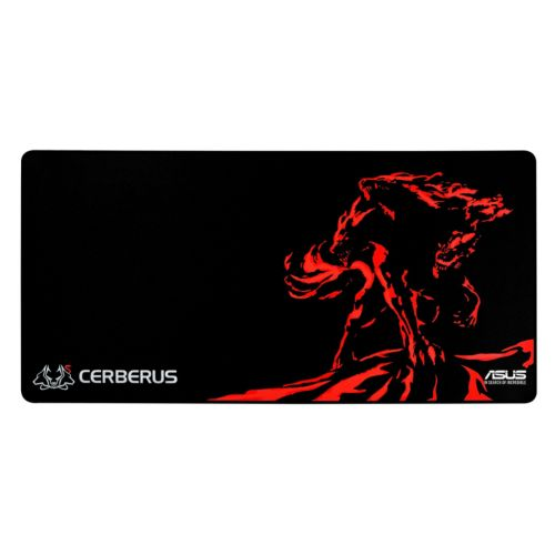 Asus CERBERUS XXL Gaming Mouse Pad, Black & Red, 900 x 440 x 3mm