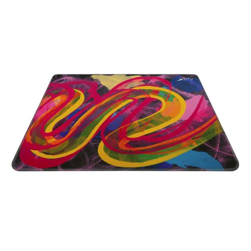 Xtrfy GP4 Large Surface Gaming Mouse Pad, Street Pink, Cloth Surface, Non-slip Base, Washable, 460 x 400 x 4 mm