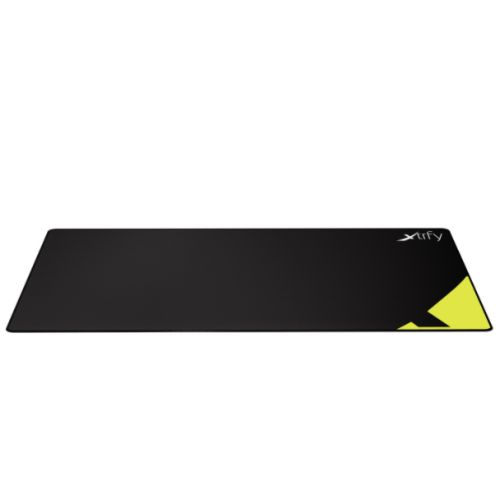 Xtrfy XGP1 Extra Large Gaming Mouse Pad, Black & Yellow, Cloth Surface, Washable, 920 x 360 x 3 mm