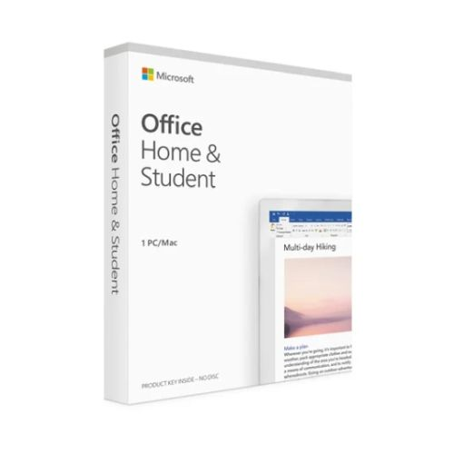 Microsoft Office 2021 Home & Student, Retail, 1 Licence, Medialess