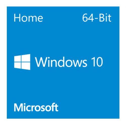 Microsoft Windows 10 Home 64-bit, OEM DVD, Single Copy