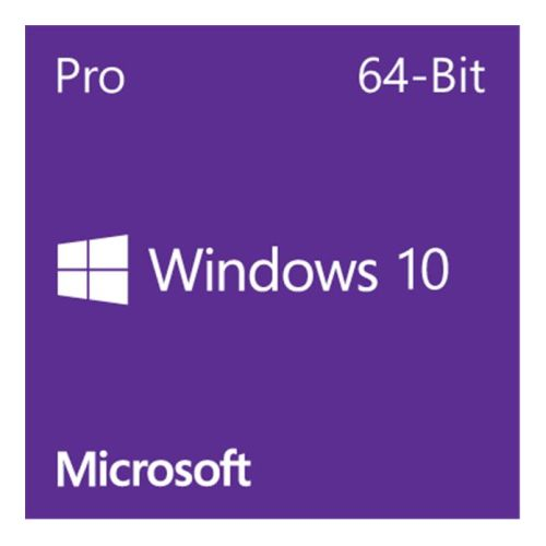 Microsoft Windows 10 Professional 64-bit, OEM DVD, Single Copy
