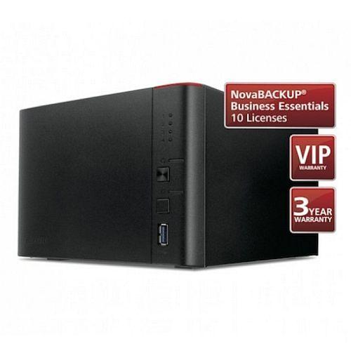 Buffalo 8TB TeraStation 1400 Business Class NAS Drive (4 x 2TB), NovaBACKUP,  24 Hour HDD Swap Out Warranty