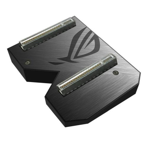 Asus ROG-NVLINK 3-Slot Bridge with RGB Lighting, for RTX NVLink SLI-ready Graphics Cards