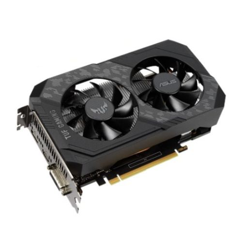 Asus TUF GAMING GTX1650 OC, 4GB DDR6, DVI, HDMI, DP, 1680MHz Clock, Overclocked, Compact Design