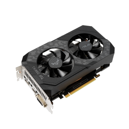 Asus TUF GAMING GTX1650 OC, 4GB DDR6, DVI, HDMI, DP, 1785MHz Clock, Overclocked, Compact Design