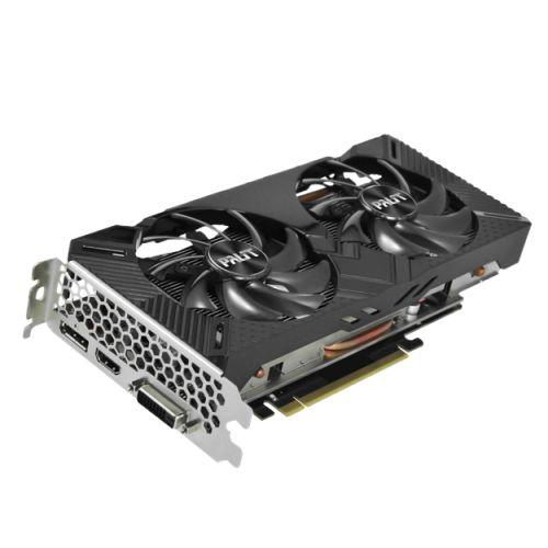 Palit GTX1660 DUAL, 6GB DDR5, DVI, HDMI, DP, 1785MHz Clock, LED Lighting