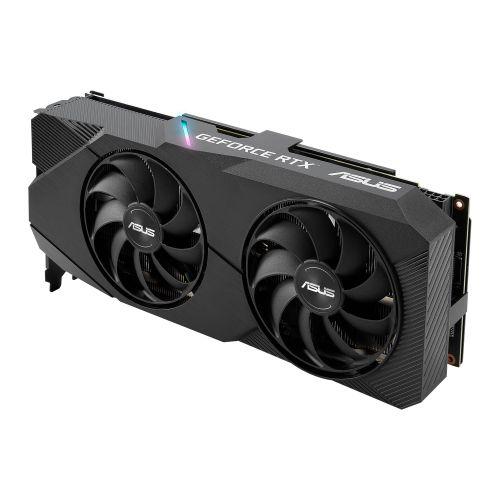 Asus DUAL RTX2060 SUPER EVO Advanced, 8GB DDR6, DVI, 2 HDMI, 2 DP, 1695MHz Clock, 0dB Tech