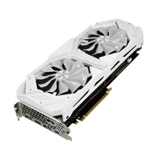 Palit RTX2080 SUPER White GameRock Premium, 8GB DDR6, HDMI, 3 DP, USB-C, 1860MHz Clock, NVLink, 0-dB Tech, RGB Lighting