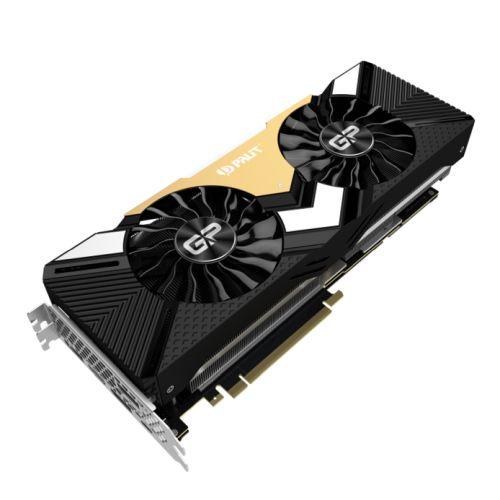 Palit RTX2080 Ti GamingPro OC, 11GB DDR6, HDMI, 3 DP, USB-C, 1650MHz Clock, RGB Lighting
