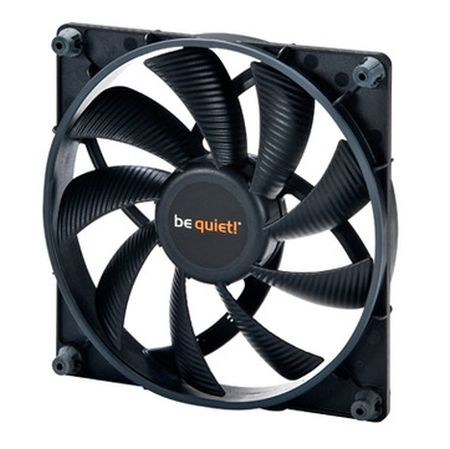 Be Quiet! BL026 Shadow Wings 12cm PWM Case fan, Rifle Bearing, Black, Screwless, Ultra Quiet