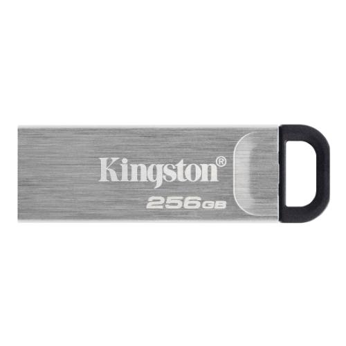 Kingston 256GB USB 3.2 Gen1 Memory Pen, DataTraveler Kyson, Metal Capless Design, R/W 200/60 MB/s