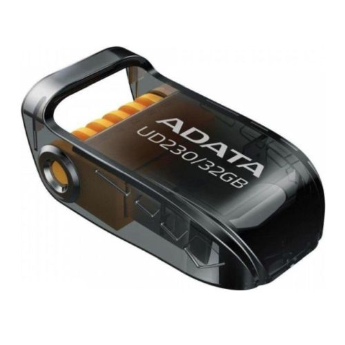 ADATA UD230 32GB USB 2.0 Memory Pen, Capless, Foldable, Dust, Water & Shock Resistant