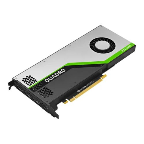 PNY Quadro RTX 4000 Professional Graphics Card, 8GB DDR6, 3 DP 1.4 (DVI & HDMI adapters included), USB-C, Turing Ray Tracing