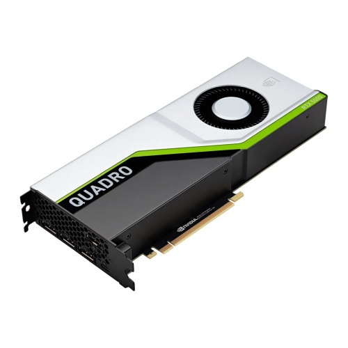 PNY Quadro RTX 5000 Professional Graphics Card, 16GB DDR6, 3072 Cores, 4 DP (DVI & HDMI adapters), USB-C, Turing Ray Tracing