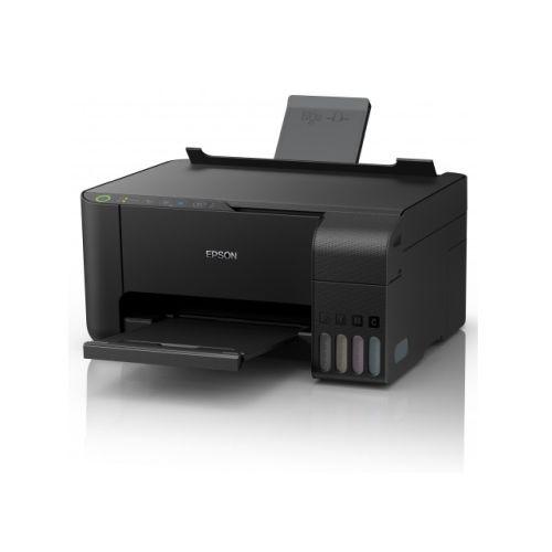 Epson EcoTank ET-2710 Wireless/USB 3-in-1 Inkjet Printer, USB/Wi-Fi, Mobile Printing, Cartridge-free printing