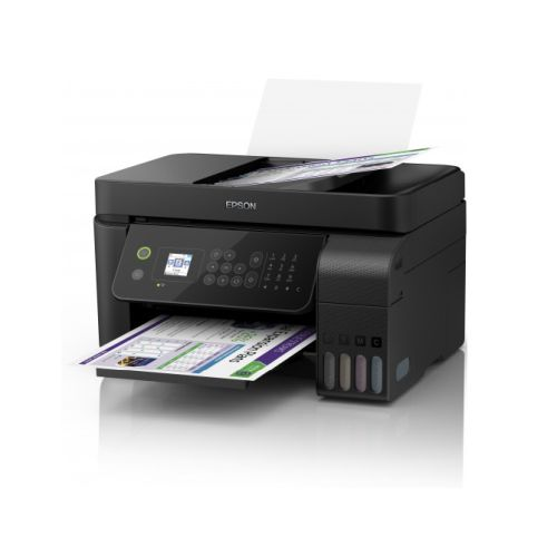 Epson EcoTank ET-4700 4-in-1 Wireless/USB Cartridge-free Inkjet Printer, LCD Screen, Double-Sided Printing