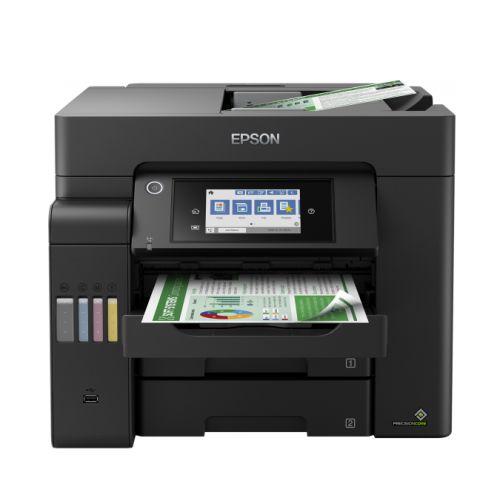 Epson EcoTank ET-5800 4-in-1 Wireless/USB High Performance Inkjet Printer, Automatic Duplex Printing, LCD Screen, Up to 25ipm