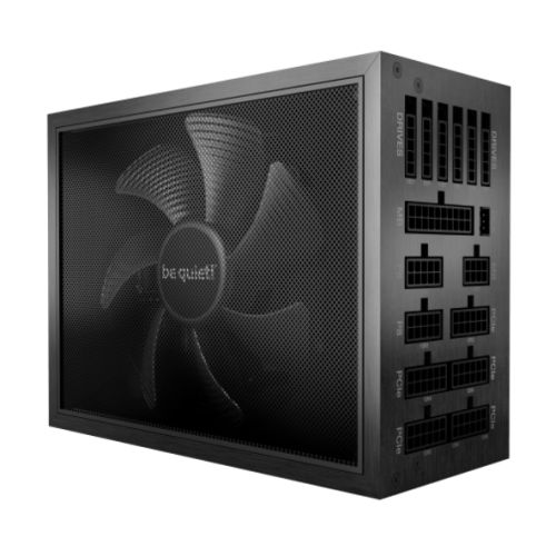 Be Quiet! 1200W Dark Power Pro 12 PSU, Fully Modular, Fluid Dynamic Fan, 80+ Titanium, Fully Digital Control, Frameless Fan Concept