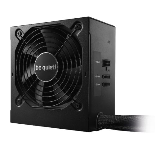 Be Quiet! 400W System Power 9 CM PSU, Semi-Modular, Sleeve Bearing, 80+ Bronze, Dual 12V, Cont. Power
