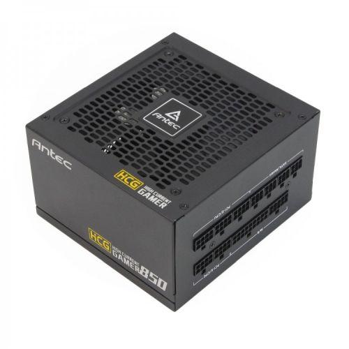 Antec 850W High Current Gamer Gold PSU, Fully Modular, Fluid Dynamic Fan, Zero RPM Mode, 80+ Gold