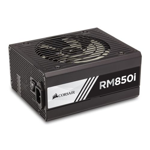 Corsair 850W RMi Series RM850i PSU, Fluid Dynamic Fan, Fully Modular, 80+ Gold