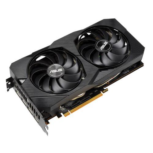 Asus DUAL RX5500 XT EVO OC, 8GB DDR6, PCIe4, HDMI, 3 DP, 1865MHz Clock, 0dB Tech, Overclocked