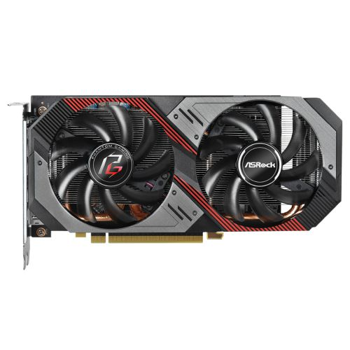 Asrock RX5600 XT Phantom Gaming D2 6G OC, 6GB DDR6, PCIe4, HDMI, 3 DP, 1750MHz Clock, RGB Lighting