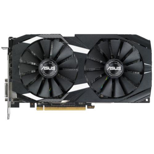 Asus Radeon RX580 DUAL OC, 4GB DDR5, DVI, 2 HDMI, 2 DP, 1380MHz Clock, 0dB Tech, CrossFire, Overclocked