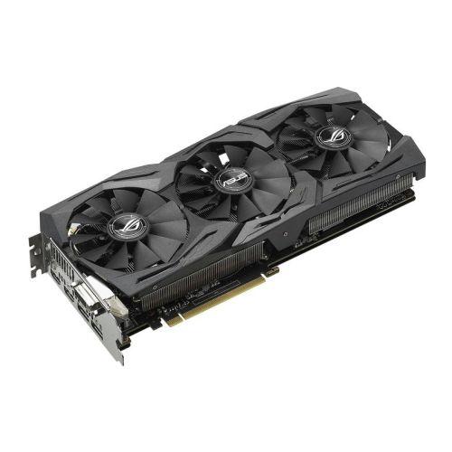 Asus Radeon ROG STRIX RX590 OC, 8GB DDR5, DVI, 2 HDMI, 2 DP, 1565MHz Clock, RGB Lighting