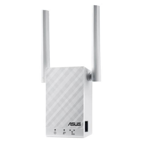 Asus (rp-ac55) Ac1200 (300+867) Dual Band Gb Wall-plug Wifi Range...