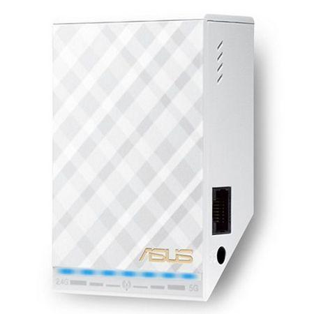 Asus (rp-ac52) 750mbps (300+433) Dual Band Universal Wall-plug Wifi...