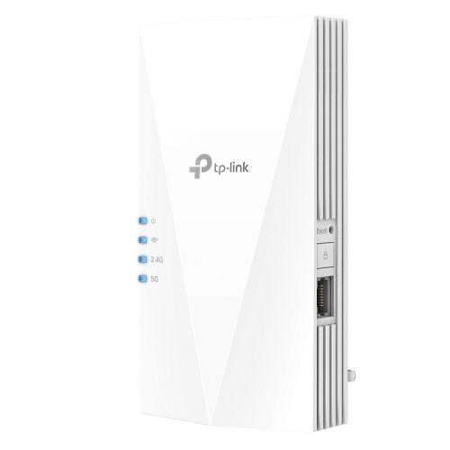 TP-LINK (RE500X) AX1500 Dual Band Wall-Plug Wi-Fi Range Extender, 1 GB LAN, AP Mode, Tether App
