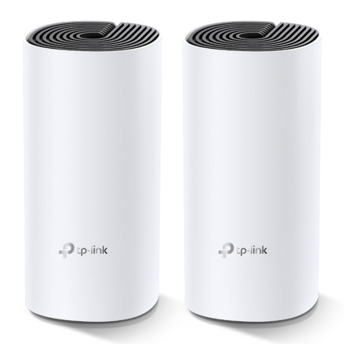 TP-LINK (DECO M4) Whole-Home Mesh Wi-Fi System, 2 Pack, Dual Band AC1200, MU-MIMO, 2 x LAN on each Unit