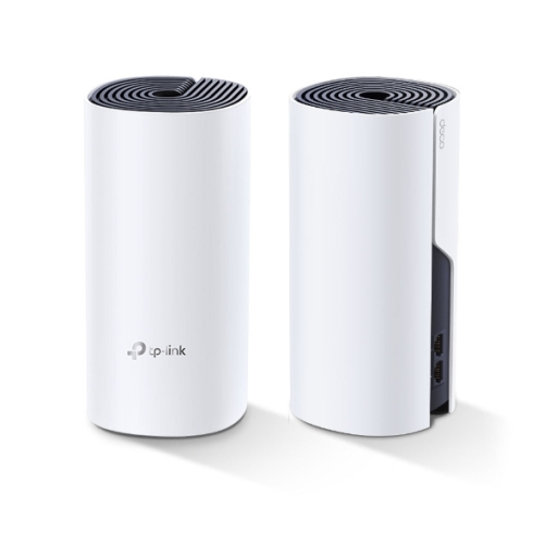 TP-LINK (DECO P9) Whole-Home Hybrid Mesh Wi-Fi System with Powerline, 2 Pack, Dual Band AC1200 + HomePlug AV1000