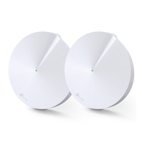 TP-LINK (DECO P7) Whole-Home Hybrid Mesh Wi-Fi System with Powerline, 2 Pack, MU-MIMO, Dual Band AC1300 + AV600