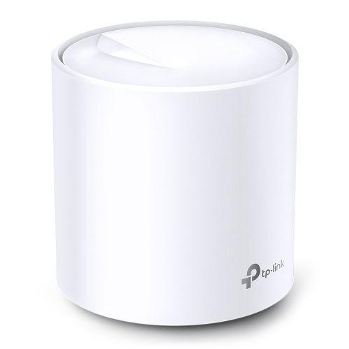 TP-LINK (DECO X60) AX3000 Wireless Whole Home Mesh Wi-Fi System, Single Unit, OFDMA & MU-MIMO, WPA3 Encryption & TP-Link HomeCare