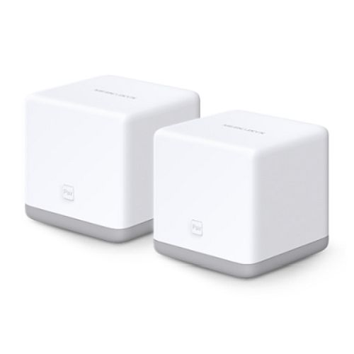 Mercusys HALO S3 Whole-Home Mesh Wi-Fi System, 2 Pack, 300Mbps, 2 x LAN on each Unit