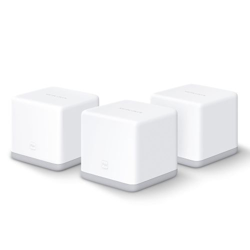 Mercusys HALO S3 Whole-Home Mesh Wi-Fi System, 3 Pack, 300Mbps, 2 x LAN on each Unit
