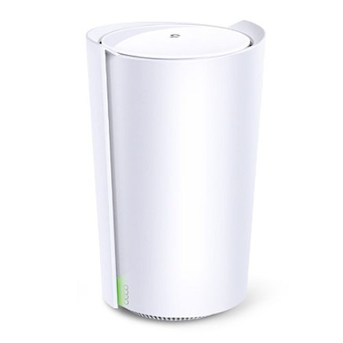 TP-LINK (DECO X90) AX6600 Wireless Whole Home Mesh Wi-Fi System, Single Unit, AI Mesh, Tri-Band, 2.5G LAN, Connect up to 200 devices