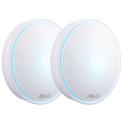 Asus LYRA Mini (MAP-AC1300) Whole-Home Mesh Wi-Fi System, 2 Pack, Dual Band AC1300, Parental Controls, App Management