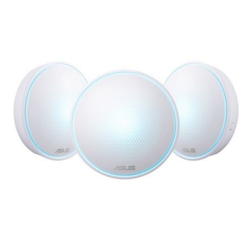Asus LYRA Mini (MAP-AC1300) Whole-Home Mesh Wi-Fi System, 3 Pack, Dual Band AC1300, Parental Controls, App Management