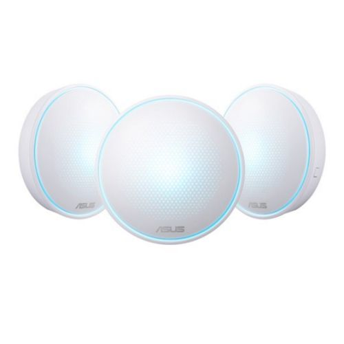 Asus LYRA Whole-Home Mesh Wi-Fi System, 3 Pack, Tri-Band AC2200, Parental Controls, App Management