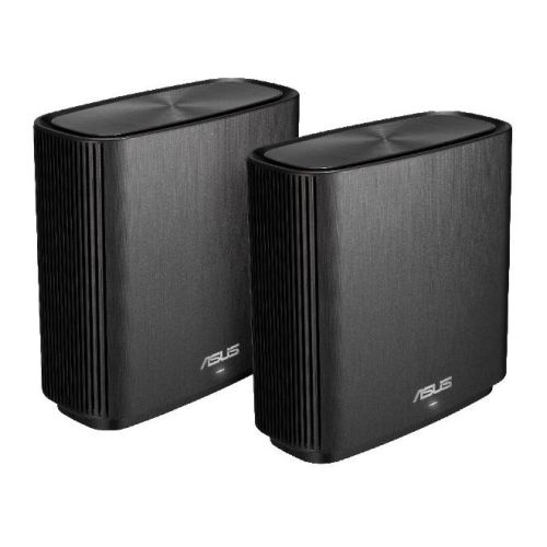 Asus (ZenWiFi AC CT8) AC3000 (400+867+1733) Wireless Tri-Band Cable Routers, 2 Pack, USB 3.0, AiMesh Tech