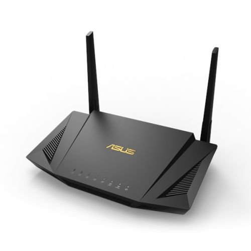 Asus (RT-AX56U) AX1800 (1201+574Mbps) Wireless Dual Band Router, MU-MIMO & OFDMA, 802.11ax, AiMesh Compatible, AiProtection Pro Security